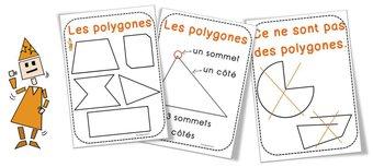 Image de Les polygones : Affichages et matériel de tri