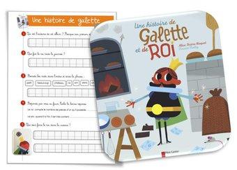 Image de Une histoire de galette d'Alice Brière-Haquet et et Vincent Mathy