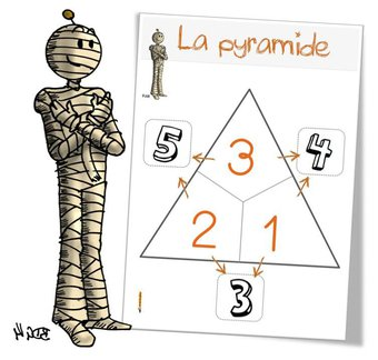 Image de Jeu : la pyramide des additions
