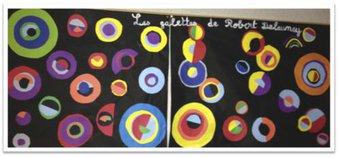 Image de Arts plastiques autour de la galette avec Warhol et Delaunay