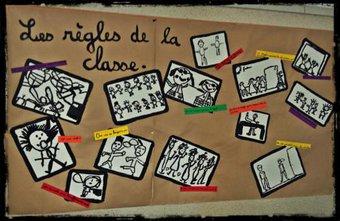 Image de Photo des règles de vie de la classe