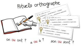 Image de Rituels « orthographe » : les homophones grammaticaux
