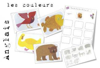 Image de CE1- Anglais : Brown bear. Les noms et les couleurs