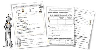 Image de G12 Grammaire CE2 : les déterminants et articles