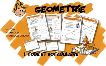 Image de CM Géométrie 1 : Code et Vocabulaire