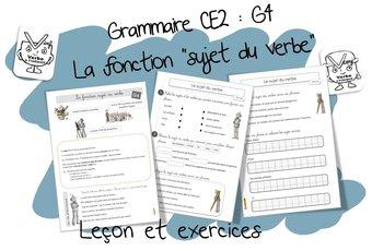 Image de Réussir en grammaire au CE2 : G4 La fonction « Sujet du verbe »