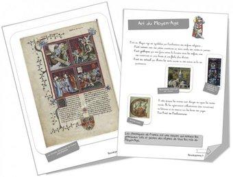 Image de Fiche art : l'art du Moyen-Age