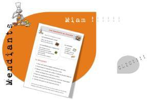 Image de 2 Recettes de cuisine :Mendiants au chocolat et palmiers