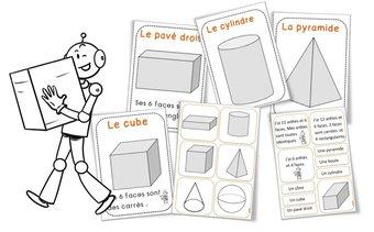 Image de Les solides : Affichages et matériel de tri