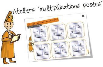 Image de Ateliers : La multiplication posée