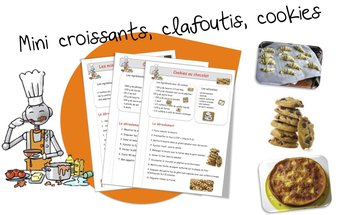 Image de Recettes de cuisine pour la classe …suite