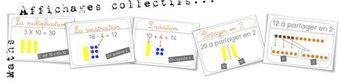 Image de Maths : affichages collectifs des opérations