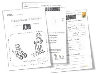 Image de CE1: Evaluations Période 2: nov-déc
