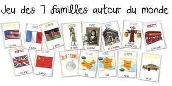 Image de Le jeu des 7 familles autour du monde
