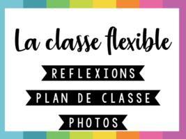 Image de Classe • Organisation • Aménagement classe flexible