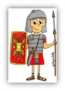 Image de CE2 • Histoire • La conquête romaine -