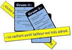 Image de Jeu de révision de grammaire en classe entière (CE1) : Gramolo