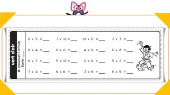 Image de Ceintures de tables de multiplications (v3)