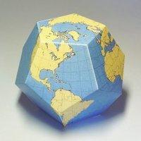 Image de Un pseudo globe à colorier et construire