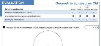 Image de Evaluations de géométrie CM