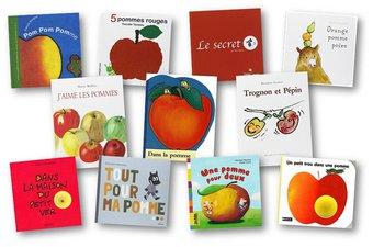 Image de Des albums sur le thème des pommes