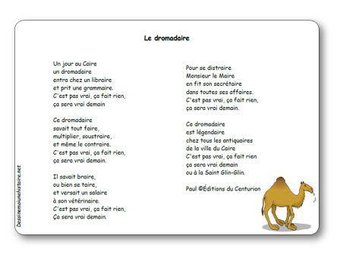 Image de « Le dromadaire », une poésie de Paul Savatier