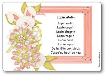Image de Comptine « Lapin Malin »