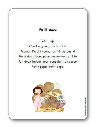 Image de Comptine « Petit papa »