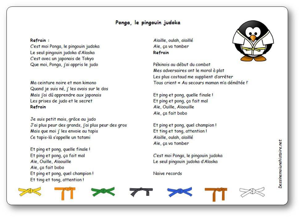 ponga pingouin judoka gratuitement