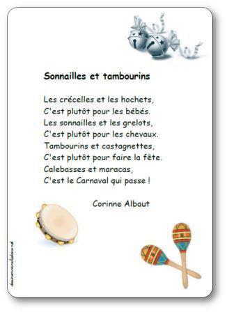 Image de « Sonnailles et tambourins », une poésie de Corinne Albaut