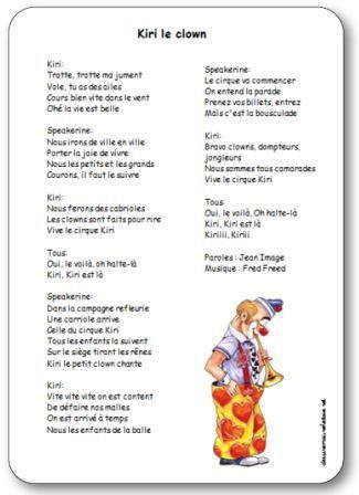 Image de « Kiri le clown », une chanson de Jean Image et Fred Freed