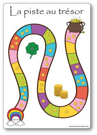 Image de La piste au trésor : jeu de numération pour la moyenne section