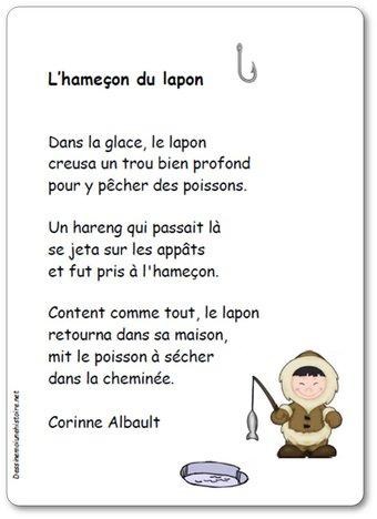 Image de Poésie « L'hameçon du lapon » de Corinne Albaut