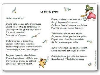 Image de « Le fils du pirate », une poésie d'Elza Saint Hilaire