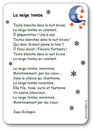 Image de Poésie « La neige tombe » de Jean Richepin