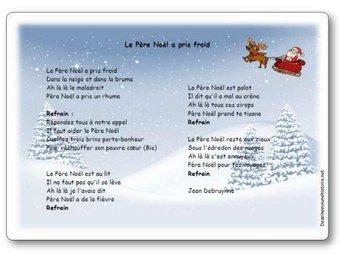 Image de « Le Père Noël a pris froid », une chanson de Jean Debruynne