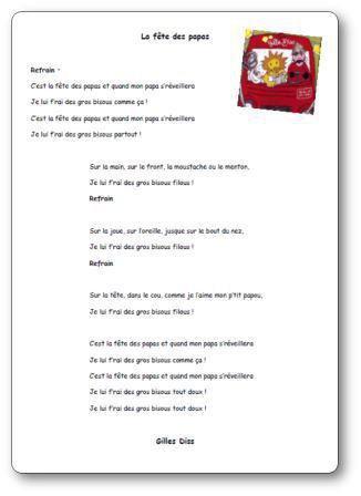 Image de « La fête des papas », une chanson de Gilles Diss
