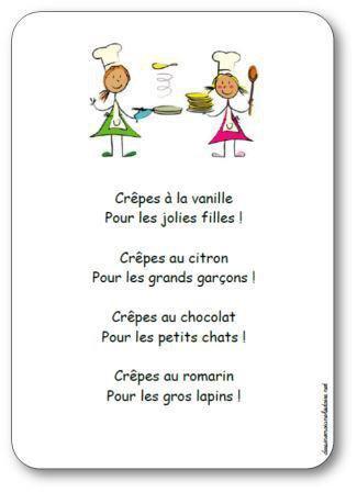 Image de Comptine « Crêpes à la vanille »