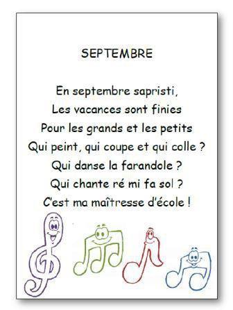 Image de Comptine « Septembre »