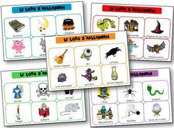 Image de Le loto d'Halloween… un loto qui fait peur !!