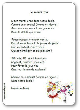 Image de « Le mardi fou », une poésie de Hoareau Jamy