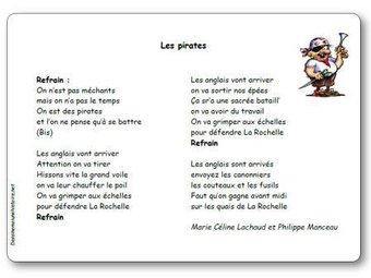 Image de « Les pirates », une chanson de Marie Céline Lachaud et Philippe Manceau