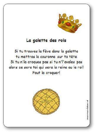 Image de Comptine « La galette des rois »