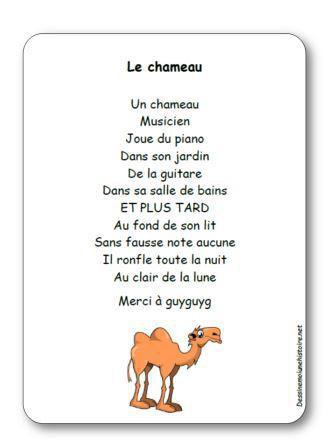 Image de Comptine « Le chameau »
