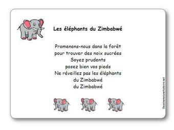 Image de Comptine « Les éléphants du Zimbabwé »