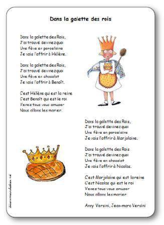 Image de « Dans la galette des rois », une chanson d'Anny et Jean-Marc Versini