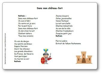 Image de « Dans mon château-fort », une chanson de Pierre Lozère