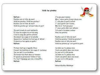 Image de « Voilà les pirates » une chanson de Gérard Delahaye