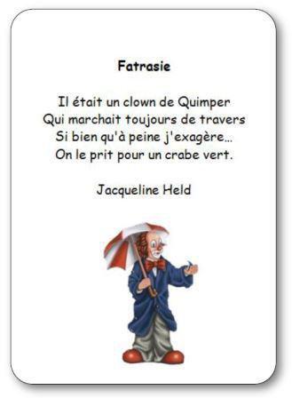 Image de « Fatrasie », une poésie de Jacqueline Held
