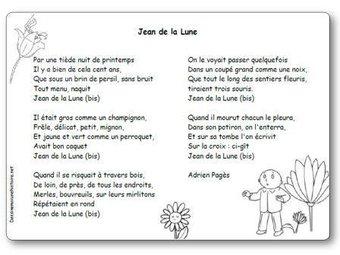 Image de « Jean de la Lune », une chanson d'Adrien Pagès